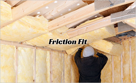 Friction Fit Batt Insulation